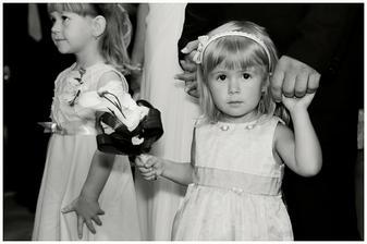 Družička, naše dcerka Terezka