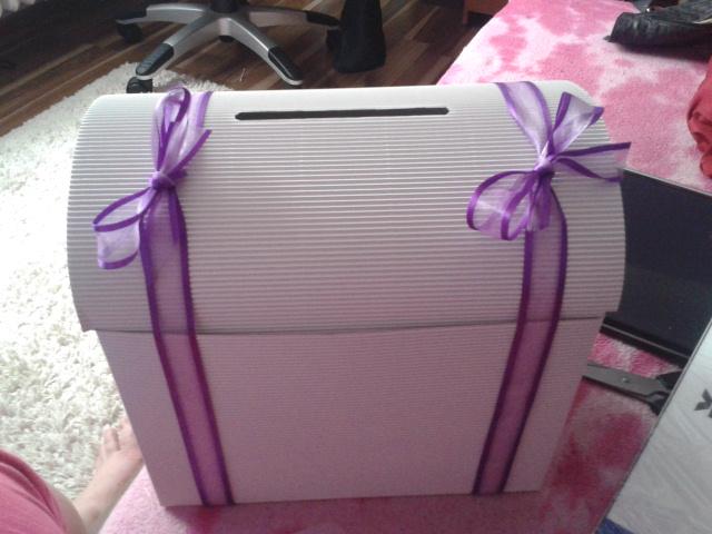 Je doma - Krabice na přáníčka