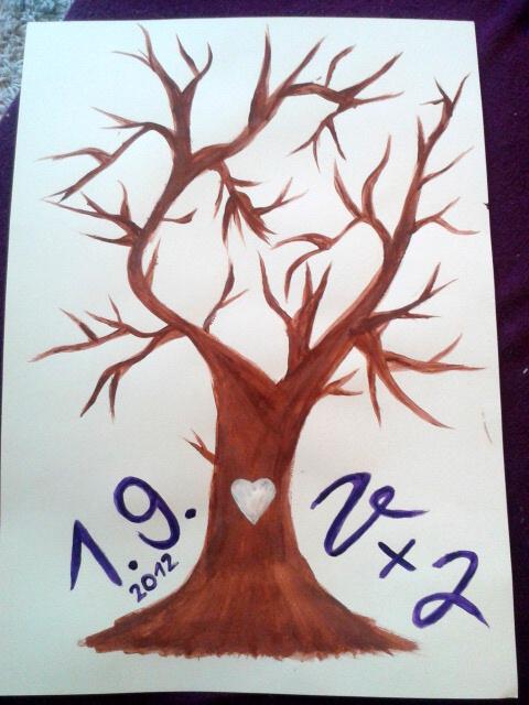 Strom - Neumím moc malovat, ale myslím, že to stačí