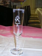 sklenice nevěsta