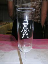 sklenice ženich