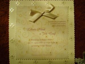 hotové svatební oznámení