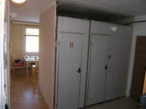 23/01/08...v podstate puvodni stav. te ulicky do kuchyne se zbavime ve prospech vetsi koupelky a wcka