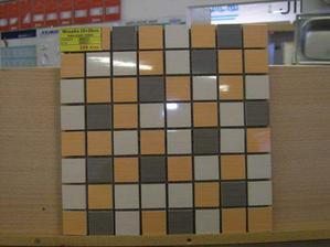 ...a mozaika ze stejnych barev...