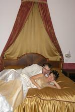 Svatební apartmá...kde bylo i svatební ráno..:-))