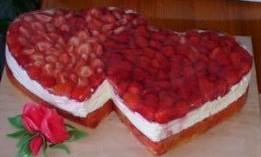 Jako hlavní nám postačí  jednoduchý dort.