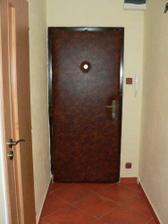 Vstupní dveře vnitřek
