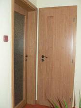 Nové dveře obývák, WC