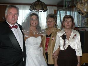 Moji rodiče a sestra