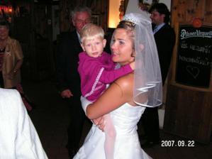 Druhý nejmladší svatebčan