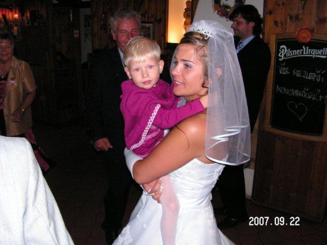 Katka{{_AND_}}Petr - Druhý nejmladší svatebčan
