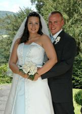 novomanželé Benešovi