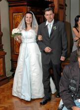 tatínek nevěsty a nevěsta