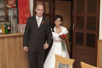 Vstup na svatební hostnu