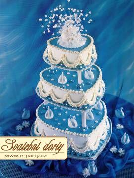Co sa nam paci a co uz mame - predloha na svadobnu tortu - modra, srdieckovska, trojposchodova, mnaam