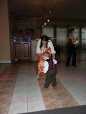 najmenší najväčší tanečník :)