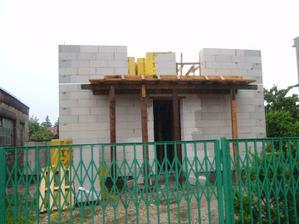 Zaliaty balkón