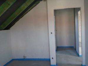 Úložný priestor v našej budúcej izbe.