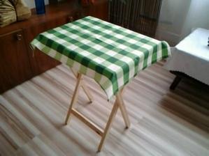 stolček aj s obruskom (bohužiaľ nie prestri sa)