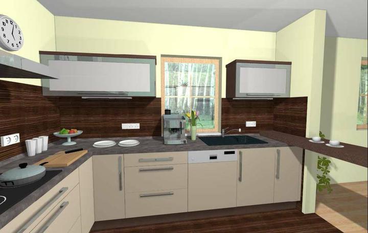 Kuchyň - Pohled k oknu