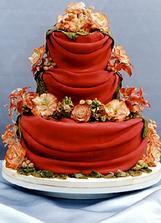 zajímavá barvička dortu