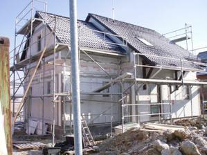 5. den už je komplet hotová střecha.
