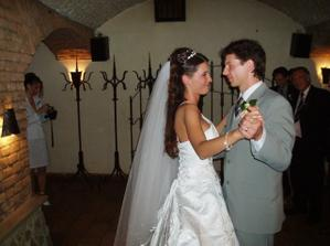 náš první tanec