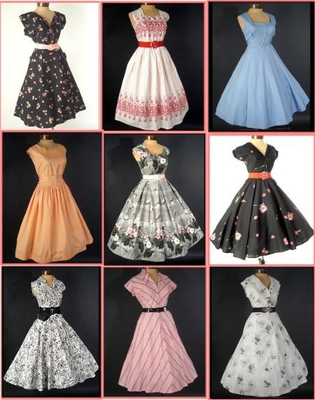 INSPIRACE - Super šaty ve stylu 50's - Obrázek č. 14