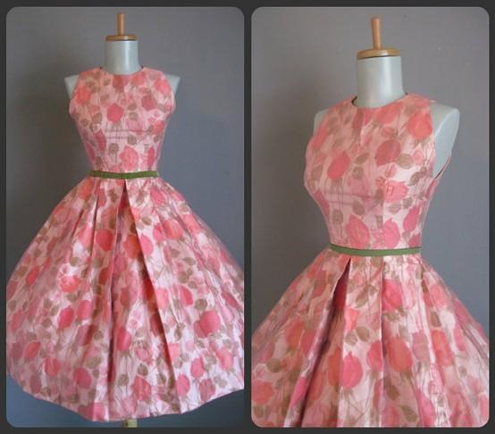 INSPIRACE - Super šaty ve stylu 50's - Obrázek č. 16