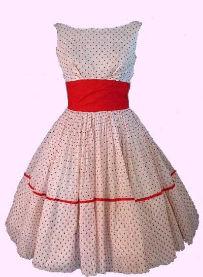 INSPIRACE - Super šaty ve stylu 50's - Obrázek č. 4