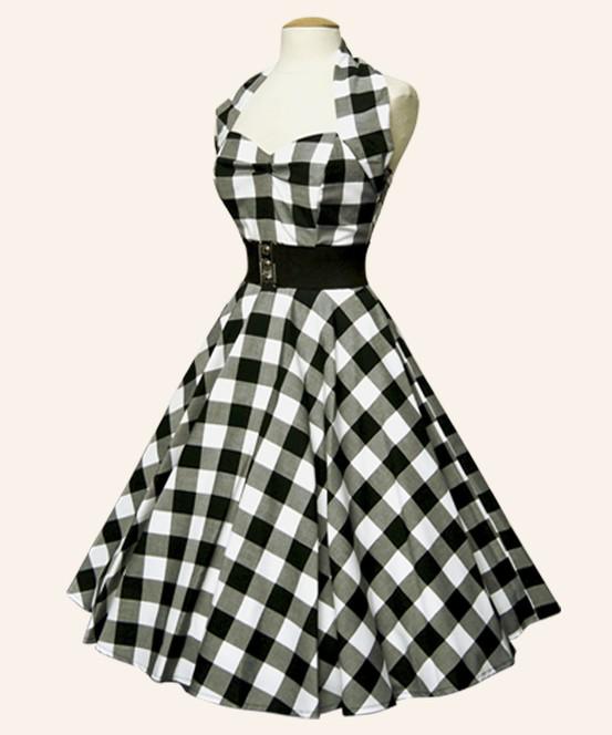 INSPIRACE - Super šaty ve stylu 50's - Obrázek č. 11