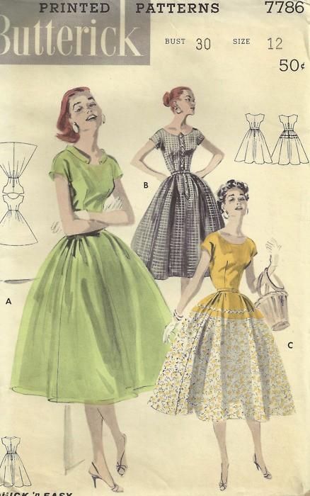 INSPIRACE - Super šaty ve stylu 50's - Obrázek č. 20