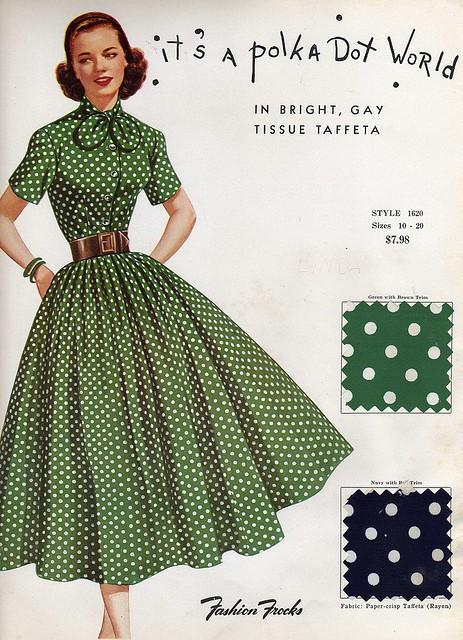 INSPIRACE - Super šaty ve stylu 50's - Obrázek č. 13