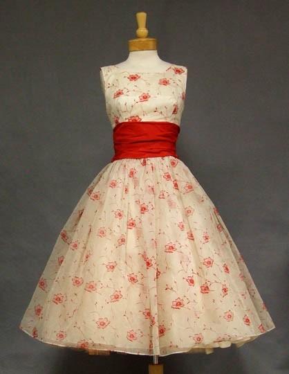 INSPIRACE - Super šaty ve stylu 50's - Obrázek č. 6