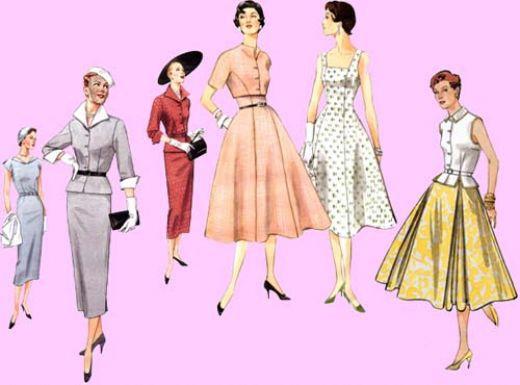 INSPIRACE - Super šaty ve stylu 50's - Obrázek č. 23
