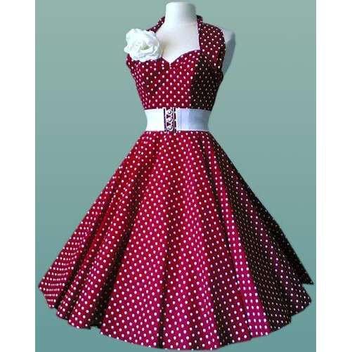 INSPIRACE - Super šaty ve stylu 50's - Obrázek č. 26