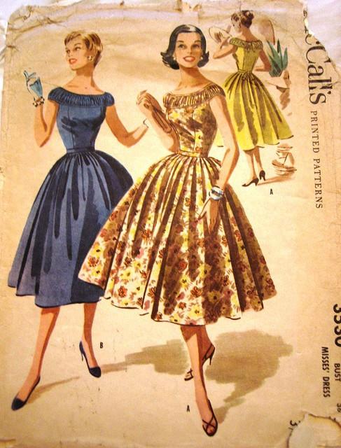 INSPIRACE - Super šaty ve stylu 50's - Obrázek č. 19