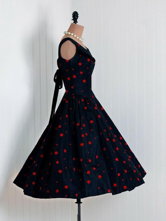 INSPIRACE - Super šaty ve stylu 50's - Obrázek č. 38