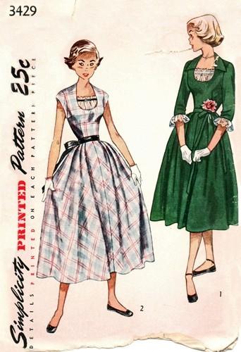 INSPIRACE - Super šaty ve stylu 50's - Obrázek č. 44
