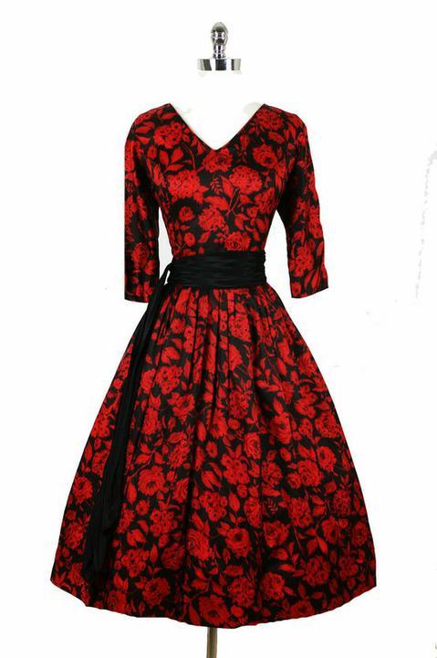 INSPIRACE - Super šaty ve stylu 50's - Obrázek č. 47