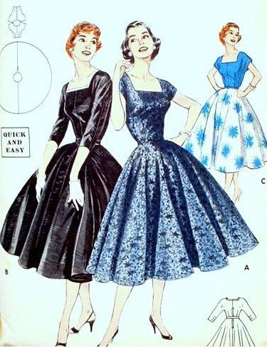INSPIRACE - Super šaty ve stylu 50's - Obrázek č. 52