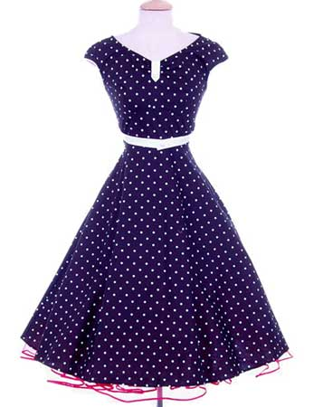 INSPIRACE - Super šaty ve stylu 50's - Obrázek č. 54