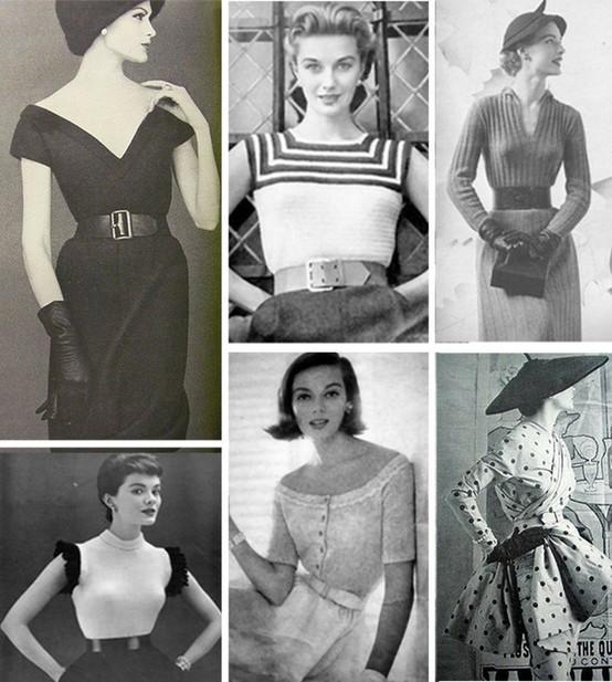 INSPIRACE - Super šaty ve stylu 50's - Obrázek č. 57