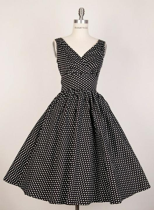 INSPIRACE - Super šaty ve stylu 50's - Obrázek č. 64