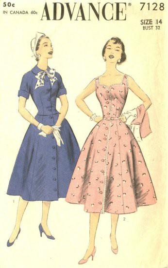 INSPIRACE - Super šaty ve stylu 50's - Obrázek č. 72