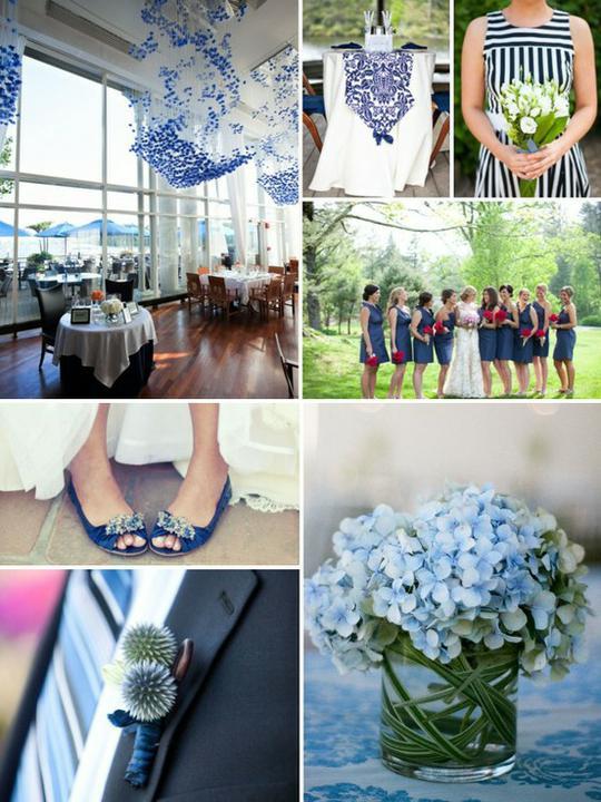 INSPIRACE - Kombinace s modrou (odstíny modré, s bílou, s černou, se zlatou, se zelenou, s hnědou, ...) - Obrázek č. 71