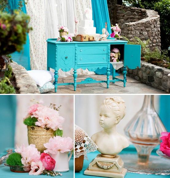 INSPIRACE - Kombinace s modrou (odstíny modré, s bílou, s černou, se zlatou, se zelenou, s hnědou, ...) - Obrázek č. 90