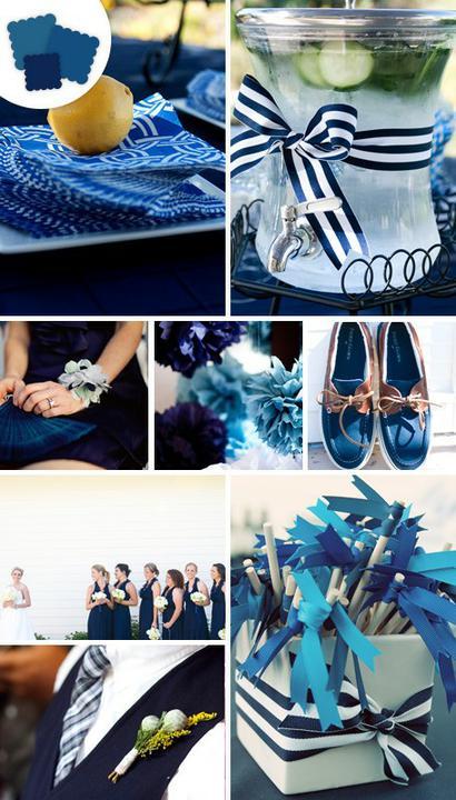 INSPIRACE - Kombinace s modrou (odstíny modré, s bílou, s černou, se zlatou, se zelenou, s hnědou, ...) - Obrázek č. 37