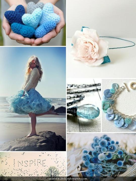 INSPIRACE - Kombinace s modrou (odstíny modré, s bílou, s černou, se zlatou, se zelenou, s hnědou, ...) - Obrázek č. 33