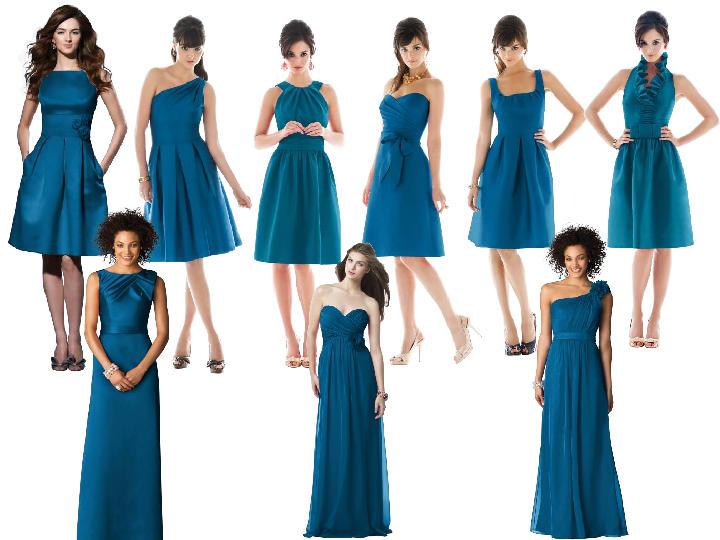 INSPIRACE - Kombinace s modrou (odstíny modré, s bílou, s černou, se zlatou, se zelenou, s hnědou, ...) - Obrázek č. 4